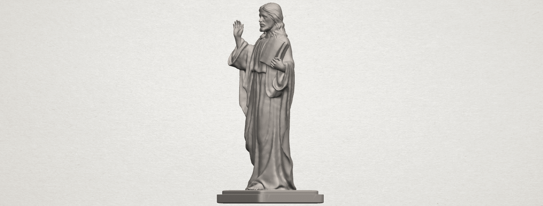 TDA0237 Jesus (v) A02.png Télécharger fichier STL gratuit Jésus 05 • Design imprimable en 3D, GeorgesNikkei