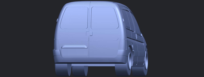 TDB002_1-50A04.png Download free STL file Citroen Berlingo Belgium Post • Design to 3D print, GeorgesNikkei