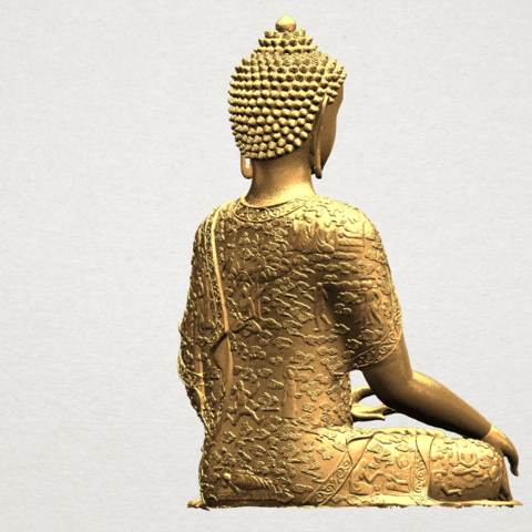 Thai Buddha(i) A06.png Download free STL file Thai Buddha (i) • Model to 3D print, GeorgesNikkei