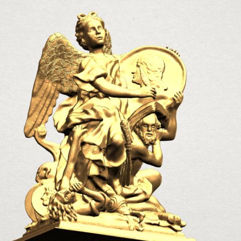 Angel (vi) - A08.png Télécharger fichier STL gratuit Ange 06 • Modèle pour imprimante 3D, GeorgesNikkei