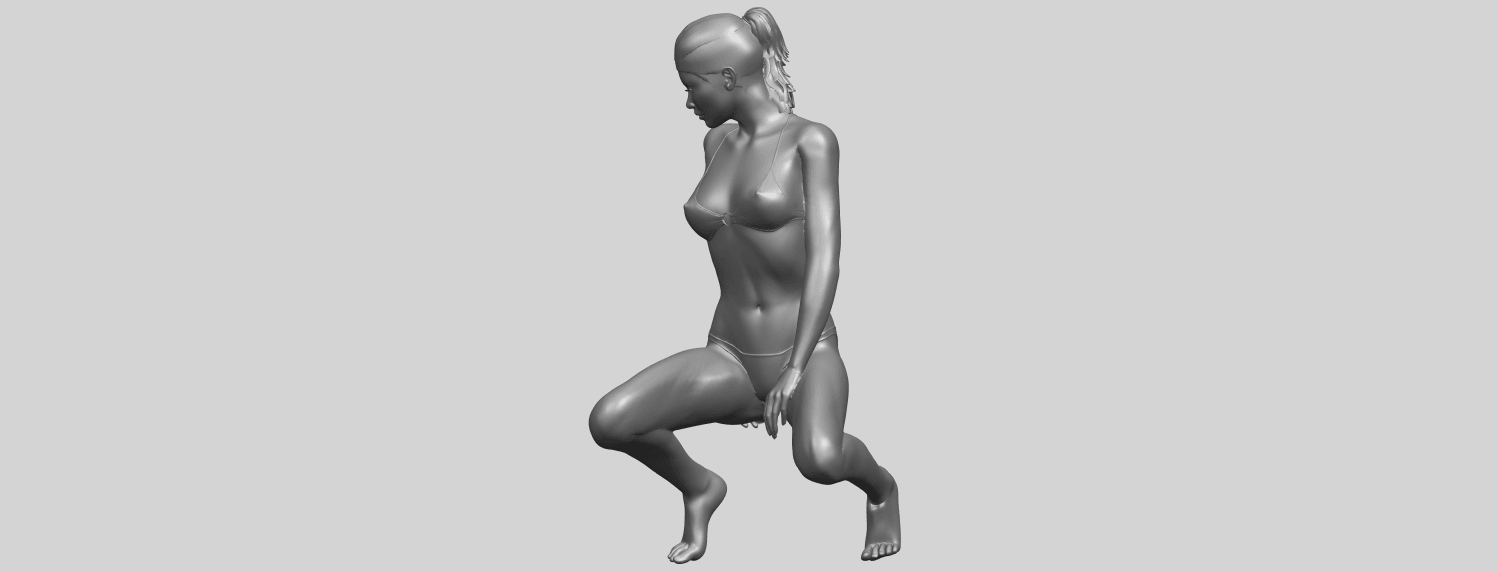 15_TDA0634_Naked_Girl_D04A03.png Download free STL file Naked Girl D04 • 3D printable template, GeorgesNikkei
