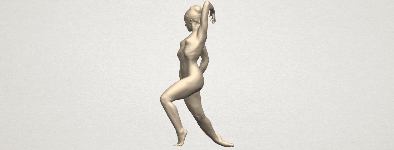 TDA0279 Naked Girl A06 04.png Download free STL file Naked Girl A06 • 3D printing template, GeorgesNikkei