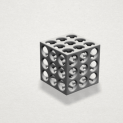 Fichier impression 3D gratuit Collier - Magic Cube, GeorgesNikkei