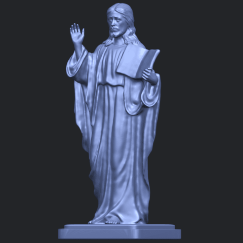 19_TDA0237_Jesus_vB02.png Download free STL file Jesus 05 • 3D print object, GeorgesNikkei
