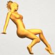 A09.png Download free STL file Naked Girl G03 • 3D print object, GeorgesNikkei