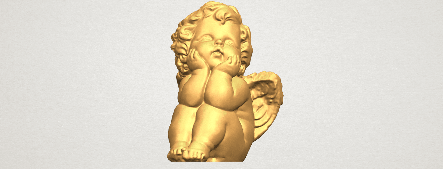 TDA0481 Angel Baby 04 A07.png Download free STL file Angel Baby 04 • 3D printable template, GeorgesNikkei