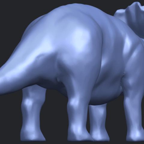 17_TDA0759_Triceratops_01B05.png Télécharger fichier STL gratuit Triceratops 01 • Modèle pour imprimante 3D, GeorgesNikkei