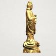 Avalokitesvara Buddha - Standing (iv) A07.png Download free STL file Avalokitesvara Buddha - Standing 04 • 3D print template, GeorgesNikkei