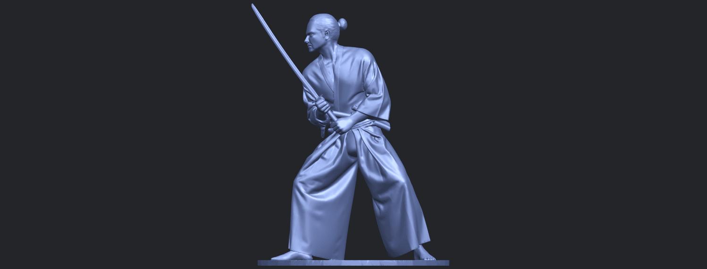 05_TDA0544_Japanese_WarriorB02.png Download free STL file Japanese Warrior • 3D printer model, GeorgesNikkei