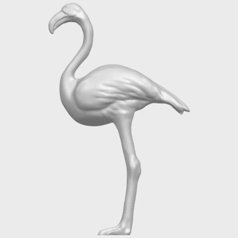 04_TDA0597_Flamingo_01A01.png Download free STL file Flamingo 01 • 3D printing model, GeorgesNikkei