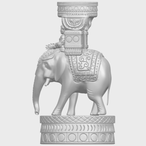 TDA0731_Elephant_08A04.png Download free STL file Elephant 08 • 3D printable template, GeorgesNikkei