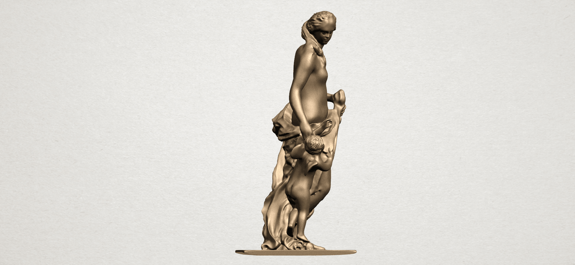 Mother and Child (v) A06.png Download free STL file Mother and Child  05 • 3D printable model, GeorgesNikkei