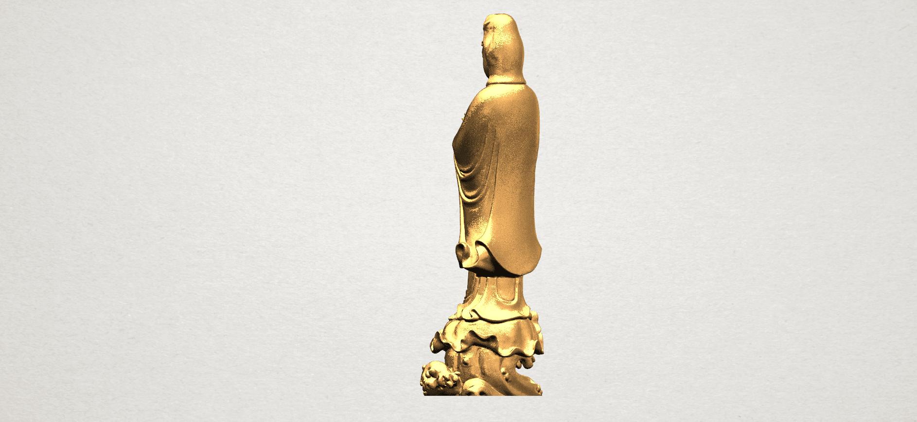 Avalokitesvara Buddha - Standing (v) A05.png Download free STL file Avalokitesvara Buddha - Standing 05 • 3D printer template, GeorgesNikkei