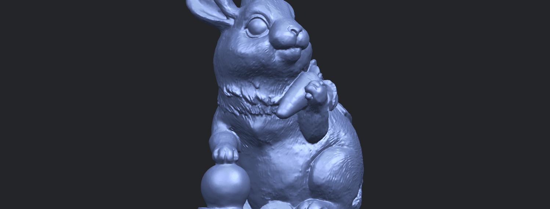 07_TDA0559_Rabbit_02A10.png Télécharger fichier STL gratuit Lapin 02 • Design imprimable en 3D, GeorgesNikkei