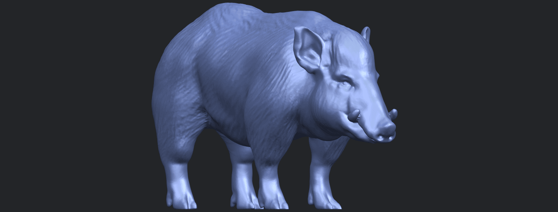 13_TDA0320_Pig_ii_B08.png Download free STL file Pig 02 • 3D printable object, GeorgesNikkei