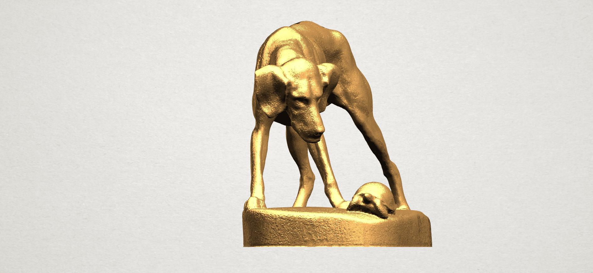 Dog (i) A06.png Télécharger fichier STL gratuit Chien 01 • Plan pour impression 3D, GeorgesNikkei