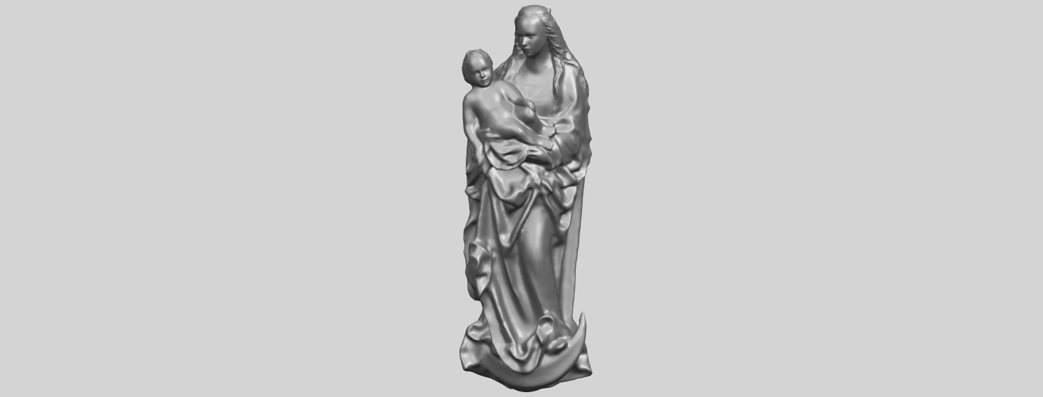 18_TDA0203_Mother_and_Child_(vi)_-88mmstlA02.png Download free STL file Mother and Child 06 • 3D printing template, GeorgesNikkei