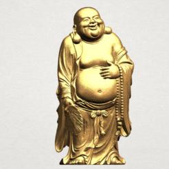 Free stl files Metteyya Buddha 01, GeorgesNikkei