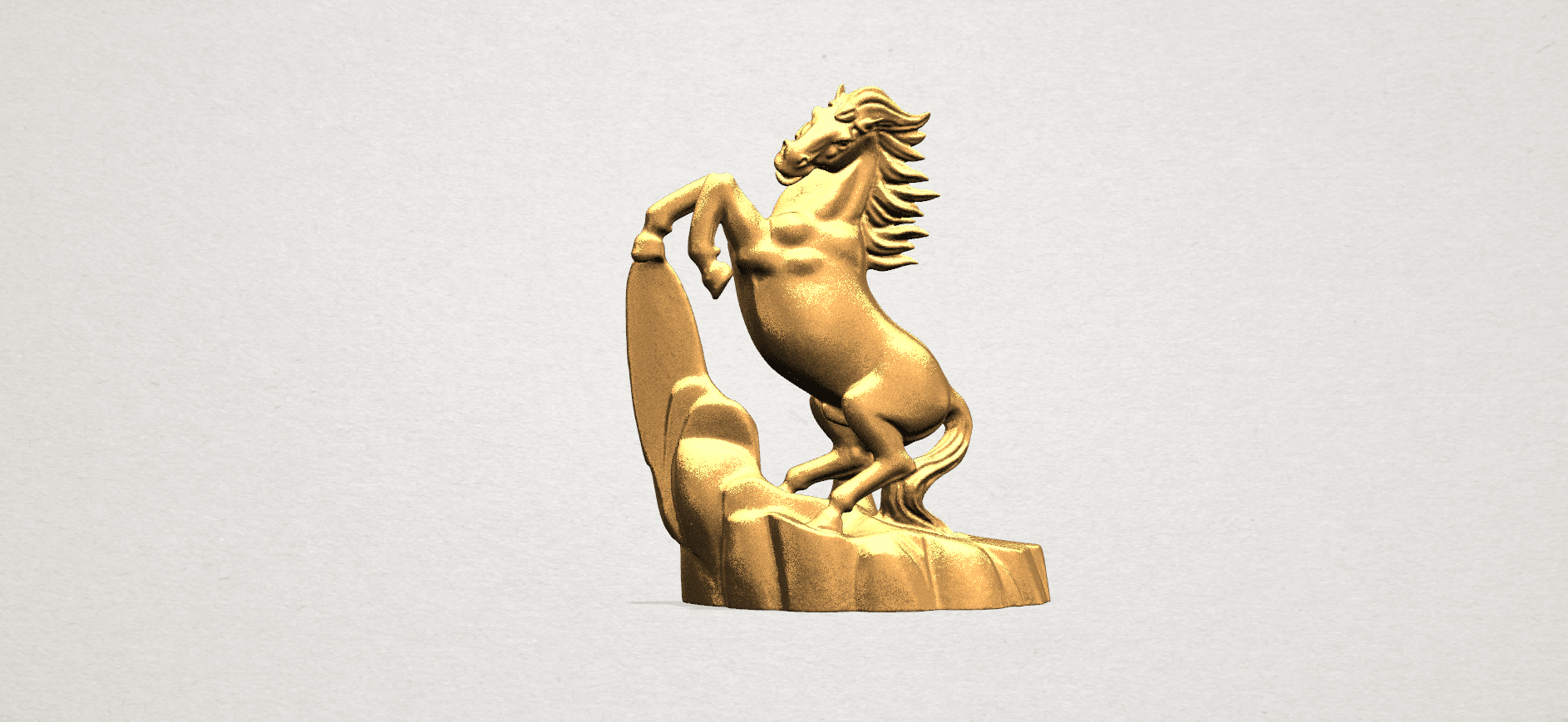 Horse - B01.png Download free STL file Horse 01 • 3D printing model, GeorgesNikkei