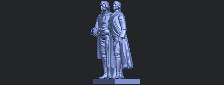15_Goethe_schiller_80mmB03.png Télécharger fichier STL gratuit Goethe Schiller • Modèle imprimable en 3D, GeorgesNikkei