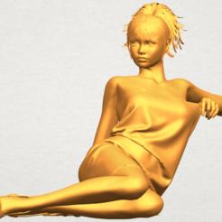 Naked Girl F04 STL file, Miketon