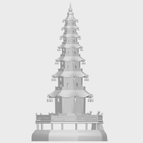 03_TDA0623_Chiness_pagodaA08.png Download free STL file Chiness pagoda • Design to 3D print, GeorgesNikkei