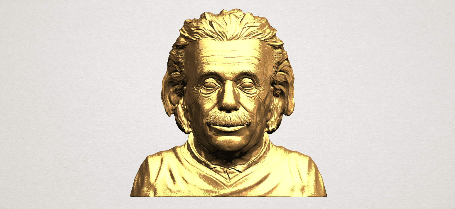 Einstein A01.png Download free STL file Einstein • 3D printer template, GeorgesNikkei