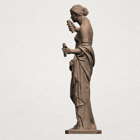 Naked Girl (xi) A03.png Download free STL file Naked Girl 11 • 3D printable model, GeorgesNikkei