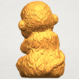 A06.png Download free STL file Monkey A04 • Model to 3D print, GeorgesNikkei