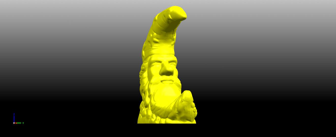 03.png Télécharger fichier STL gratuit Lune • Design pour impression 3D, GeorgesNikkei