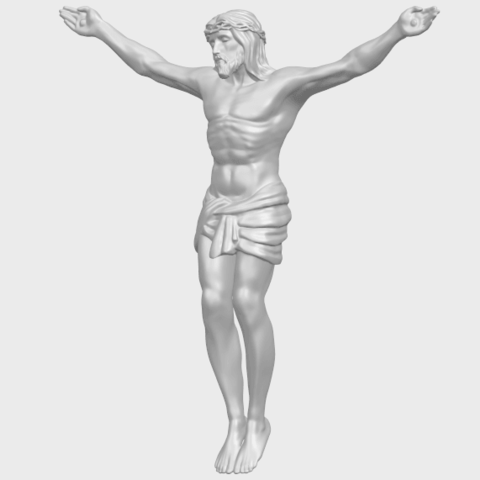 21_TDA0230_Jesus_iA02.png Download free STL file Jesus 01 - top • Object to 3D print, GeorgesNikkei