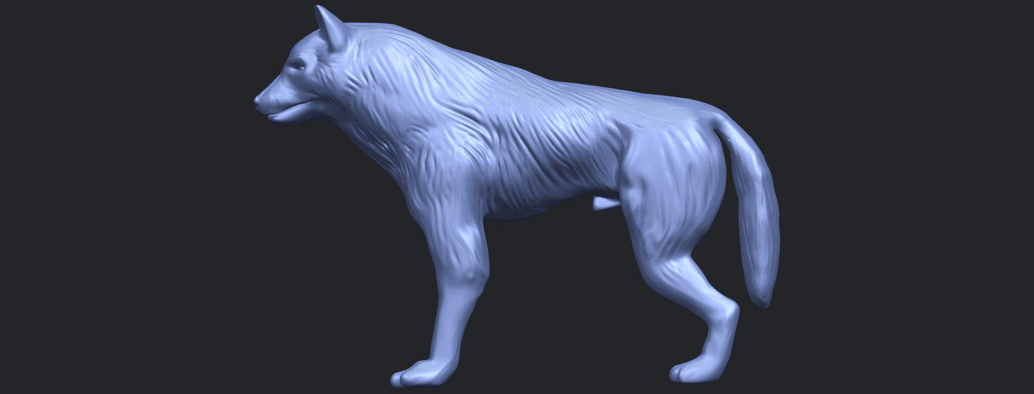14_TDA0610_WolfB01.png Download free STL file Wolf • 3D printable design, GeorgesNikkei
