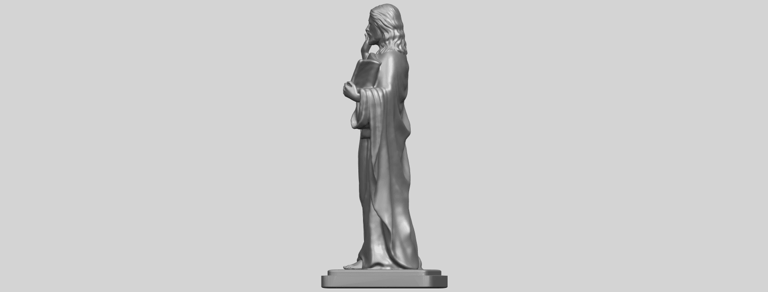 19_TDA0237_Jesus_vA04.png Download free STL file Jesus 05 • 3D print object, GeorgesNikkei
