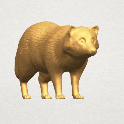 TDA0601 Fox A06.png Download free STL file Fox • 3D printer model, GeorgesNikkei