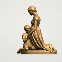 Download free 3D printing files Mother and Child 02, GeorgesNikkei