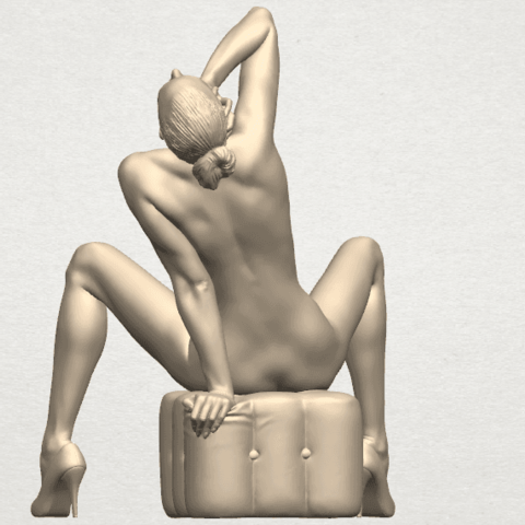 TDA0289 Naked Girl B06 07.png Download free STL file  Naked Girl B06 • 3D print design, GeorgesNikkei