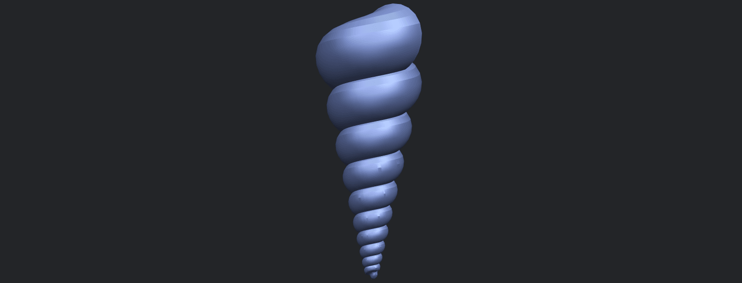 20_TDA0487_spiral_shellB08.png Download free STL file spiral shell • Object to 3D print, GeorgesNikkei