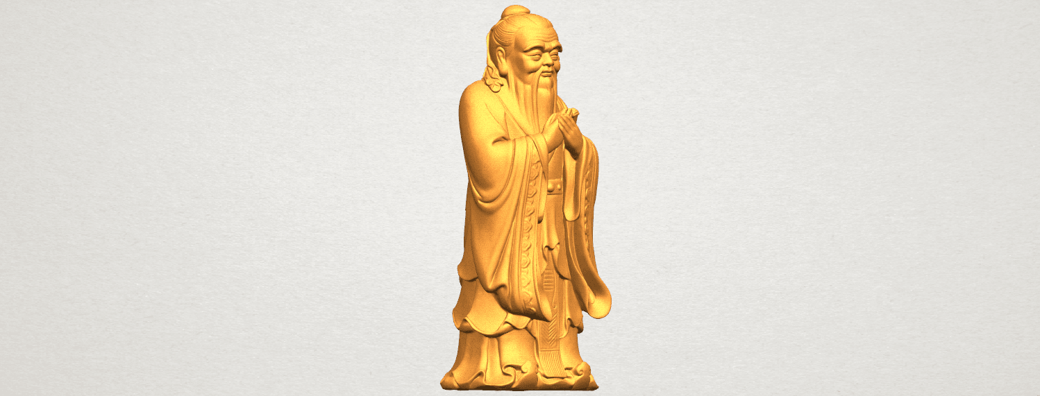 TDA0341 Confucius A07.png Download free STL file Confucius • 3D printable model, GeorgesNikkei