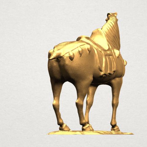 Horse (iv) A04.png Télécharger fichier STL gratuit Cheval 04 • Design à imprimer en 3D, GeorgesNikkei