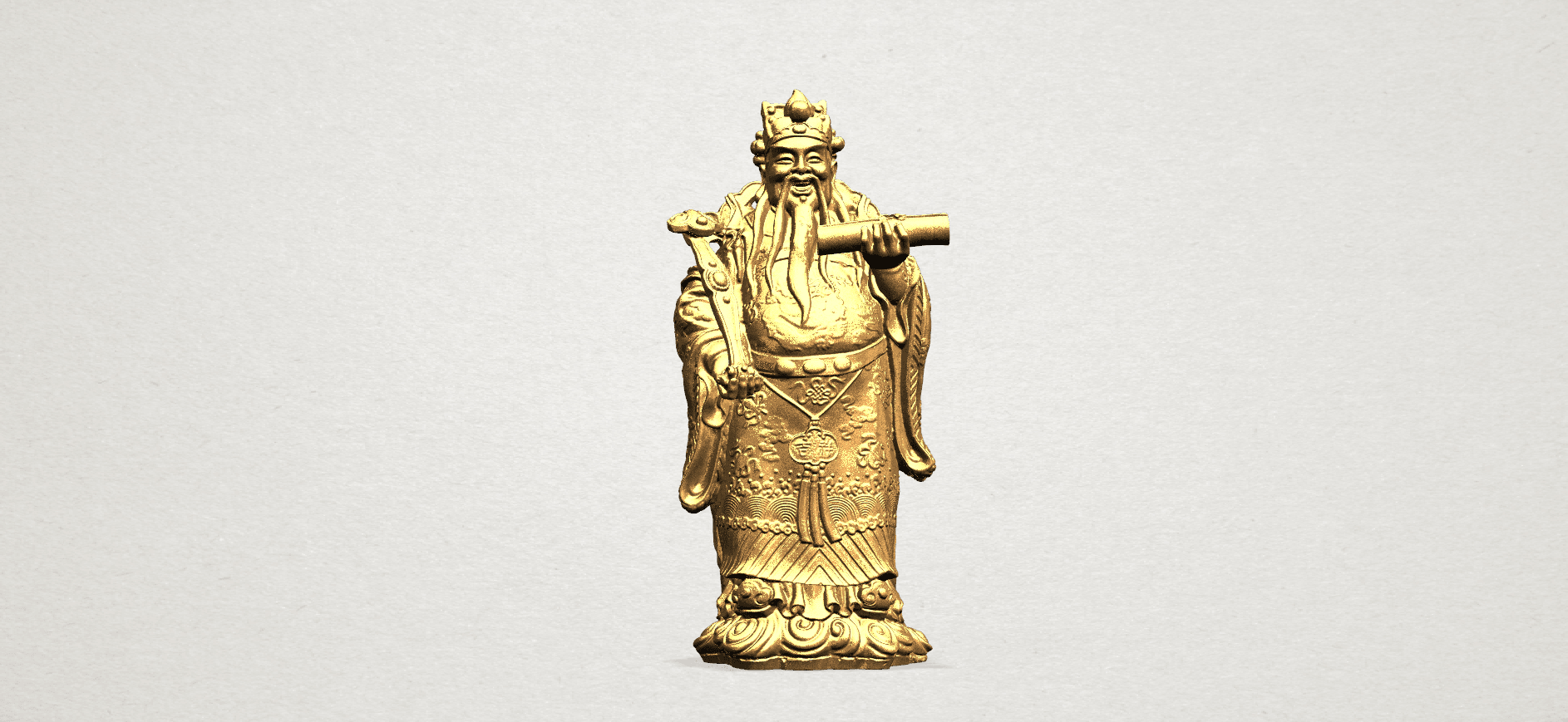 God of Treasure - B01.png Download free STL file God of Treasure • 3D printing model, GeorgesNikkei