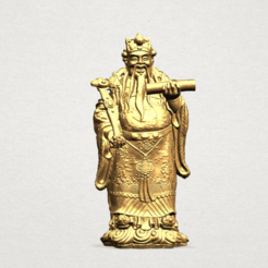 Free 3d printer model God of Treasure, GeorgesNikkei