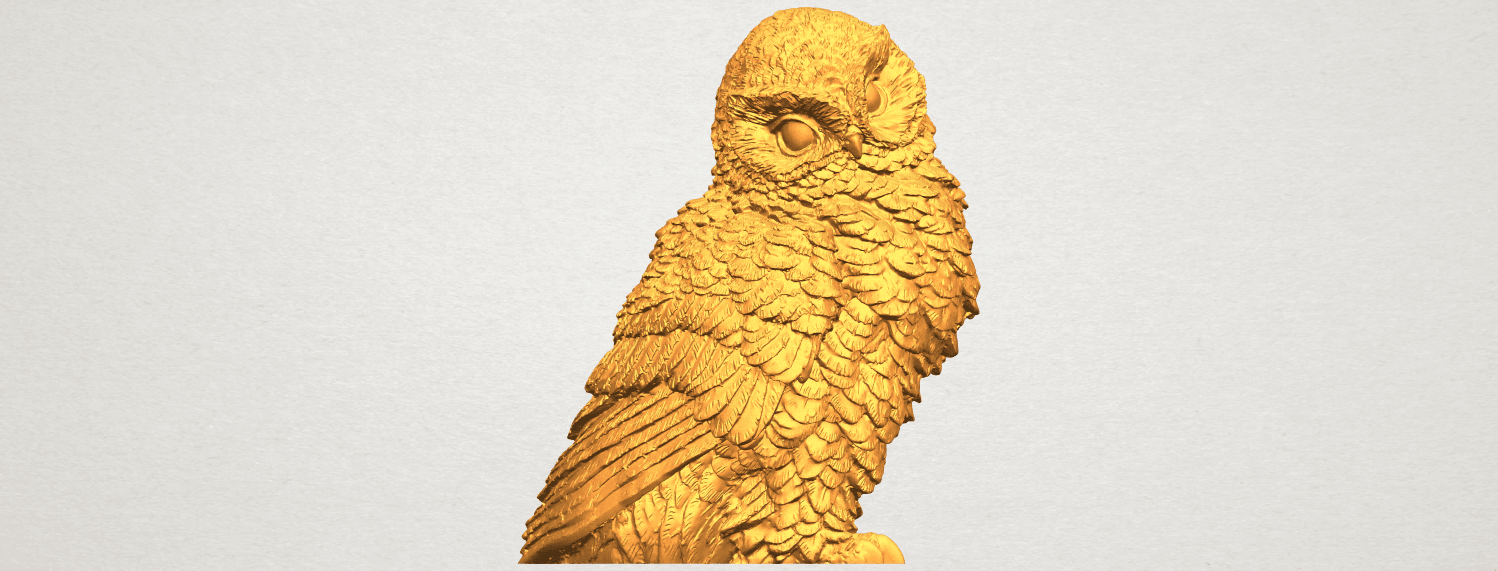 A01.png Download free STL file Owl 04 • 3D printable object, GeorgesNikkei