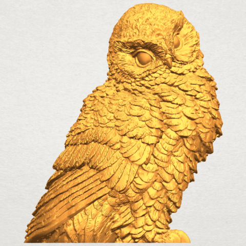 Download free STL file Owl 04 • 3D printable object, GeorgesNikkei