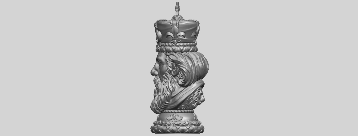 06_TDA0254_Chess-The_KingA04.png Download free STL file Chess-The King • 3D printer model, GeorgesNikkei