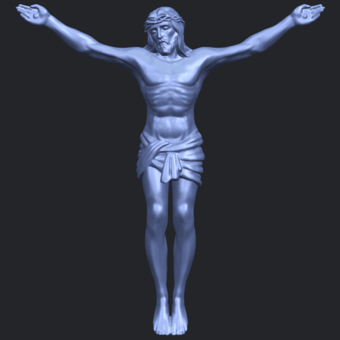 21_TDA0230_Jesus_iB01.png Download free STL file Jesus 01 - top • Object to 3D print, GeorgesNikkei