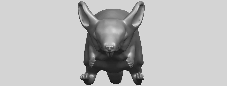 TDA0756_Rat_01A09.png Télécharger fichier STL gratuit Rat 01 • Plan pour impression 3D, GeorgesNikkei