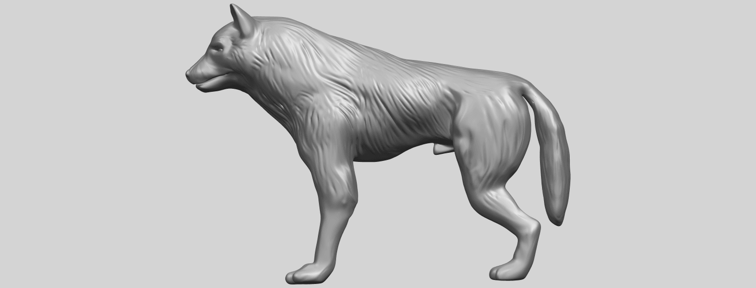 14_TDA0610_WolfA01.png Download free STL file Wolf • 3D printable design, GeorgesNikkei