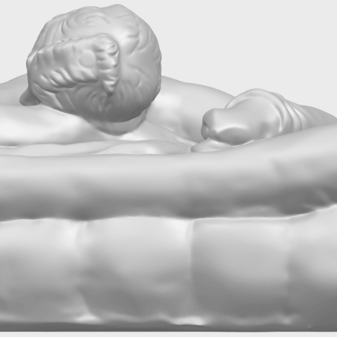 01_Naked_Body_Lying_on_Bed_ii_31mmA04.png Download free STL file Naked Girl - Lying on Bed 02 • Object to 3D print, GeorgesNikkei