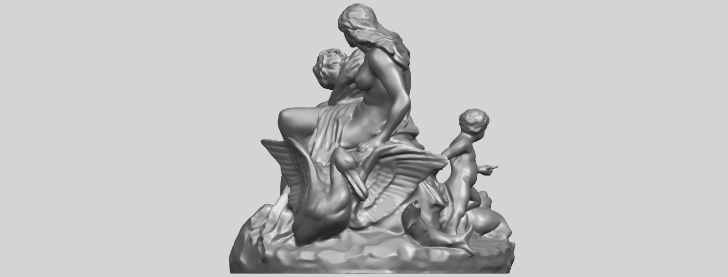 28_TDA0166_Naked_Couple_viA02.png Download free STL file  Naked Couple 06 • 3D printing object, GeorgesNikkei