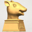 TDA0508 Chinese Horoscope of Rat 02 A06.png Download free STL file Chinese Horoscope of Rat 02 • 3D printable model, GeorgesNikkei